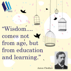 Trainer's Quote of the Week by Anton Chekhov