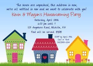 House Warming Party Invitation Wording