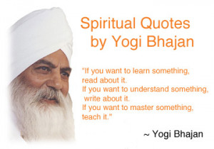 Spiritual Quotes by Yogi Bhajan
