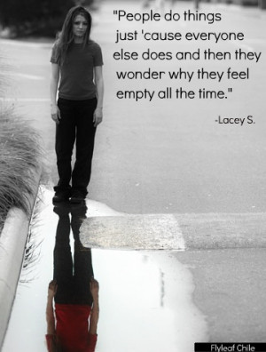 Go Back > Gallery For > Lacey Sturm Quotes