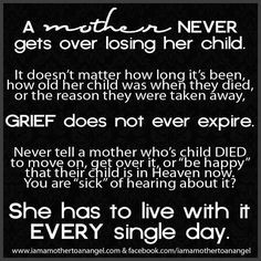 grief quotes image | Mother Grieving Loss of Child - mothergrievinglos ...
