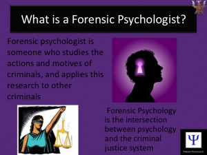 Forensic Psychology Images Forensic psychologist