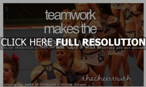 Cheerleading Teamwork Quotes Motivational