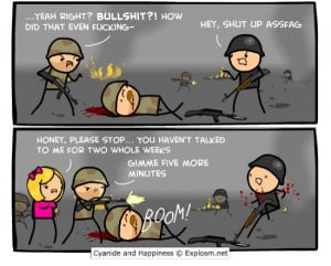 Call of Duty Funny Quotes