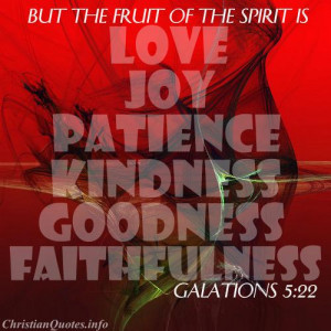 Galations 5:22 Scripture – Fruit of the Spirit