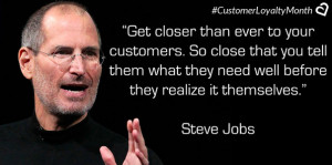 Get closer than ever to your customers. So close that you tell them ...