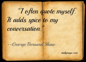 Quote: George Bernard Shaw on Quotes