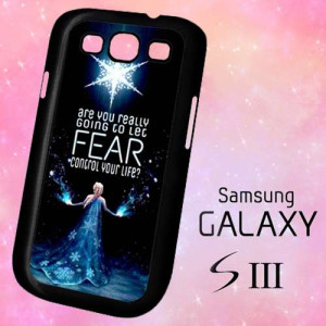 Ownza - ER1293 Elsa Frozen Quotes Samsung Galaxy S3 case   BirlynaCase ...
