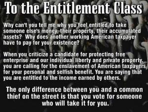 Entitlement quote #2