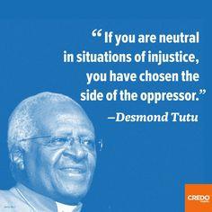 desmond tutu quote # quote # quotation http www credomobile com