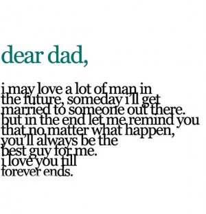 dear dad i amy love a lot of man in