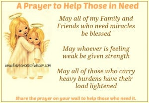 May all of my family and friends