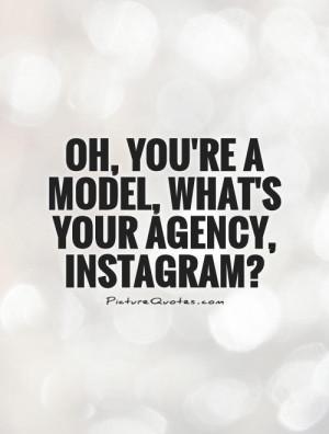 Instagram Quotes Model Quotes