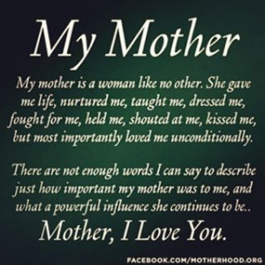 Mom- I Love And Miss You So Much- Rest In Peace...
