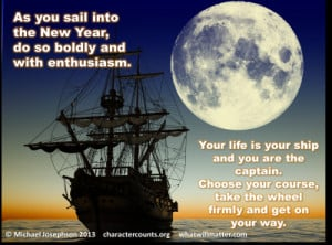 ... ship and you are the captain. Choose your course, take the wheel