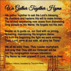 Thanksgiving prayer 2