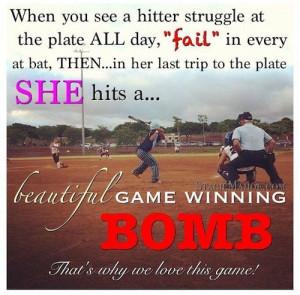 Softball Player Quotes