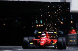 Jean Alesi Ferrari Nisan