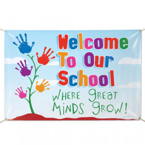 Home Education Welcome To Our School Where Great Minds Grow! 6' x 4 ...