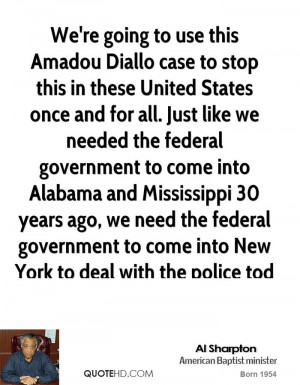 We're going to use this Amadou Diallo case to stop this in these ...