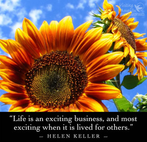 sunflowers quote