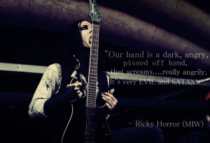 Ricky Horror Richard Olson Motionless In White Quote picture