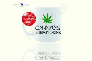 Cannabis Energy Drink Funny Mug - Coffee Mug - Gift