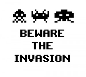 space invaders lwp for android