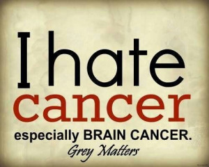 HATE CANCER!!!!!