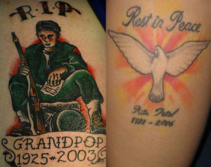 Rip tattoo quotes quotesgram for Rest in peace baby tattoos
