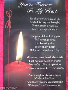 ... poems | Missing Mom In Heaven On Her Birthday Quotes image search