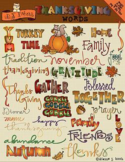 ... words clip art download thanksgiving words clip art download
