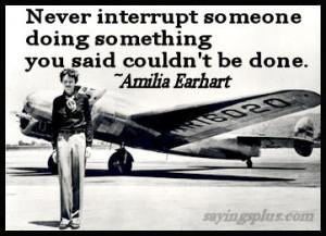 Amelia Earhart Quotes and Sayings