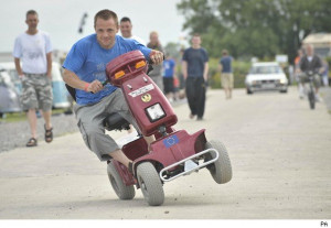 so tough that some drivers are ditching their cars and using mobility ...