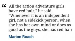 redhead quotes