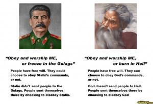 Stalin/God random