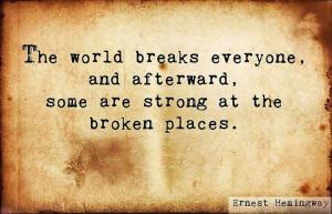 Ernest Hemingway Inspirational Quotes