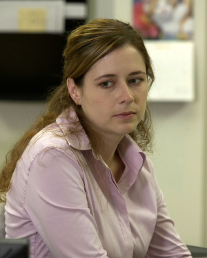 Pam Beesly Jenna fischer as pam beesly