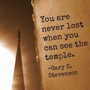 Mormon Temples-BrighamSilhouette-Quote