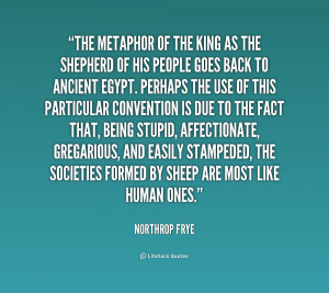 northrop frye 'the motive for metaphor' The educated imagination by northrop frye dr frye's proposals for the teaching of literature include an early the motive for metaphor 2 the singing.