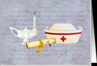 Nurse Graduation/Pinning Ceremony card - Product #744225