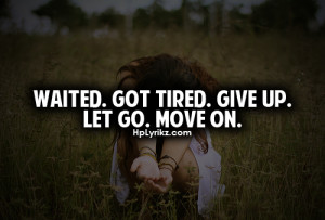 Tumblr Quotes About Moving On
