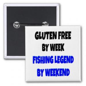 Gluten Free Fishing Legend Button