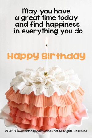 Birthday wishes quotes, awesome, sayings, happiness