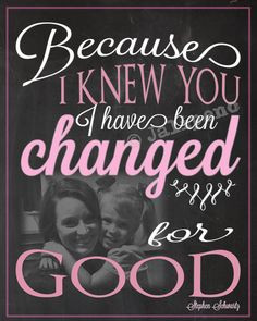 Wicked Quote - I Have Been Changed