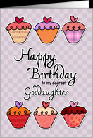 Happy Birthday to my dearest goddaughter card - Product #382961