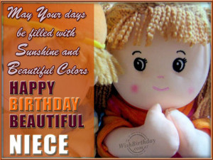 ... wishes for niece – Happy Birthday Niece Quotes, Pictures Message