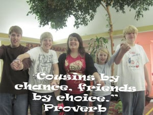 Quotes About Cousins Like Sisters