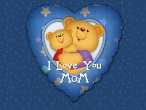 Cute Happy Mother's Day 2013 bears HD wallpaper