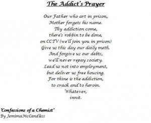 in prison mother forgets his name thy addiction come quote the addicts ...